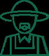 icona agricoltore